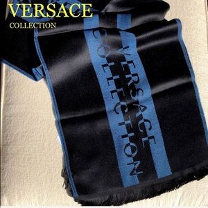 💯 VERSACE COLLECTION scarf